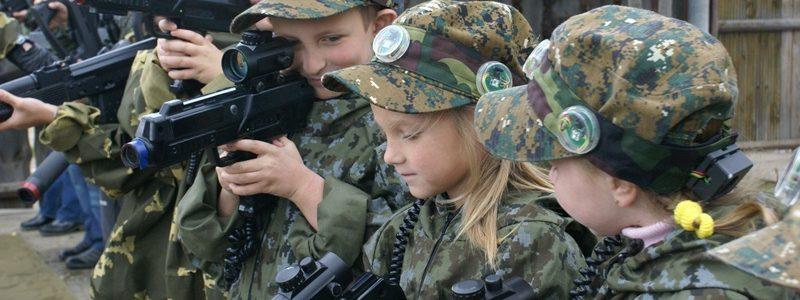 Лазертаг для детей. Лазертаг в Минске для детей.